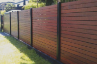 Wood is a popular choice and when maintained properly, wood fencing can last a very long time. Wood is very customizable as you can change the style, you can stain or paint, and so many other options!